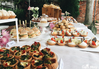 大橋教堂外的小婚禮茶會